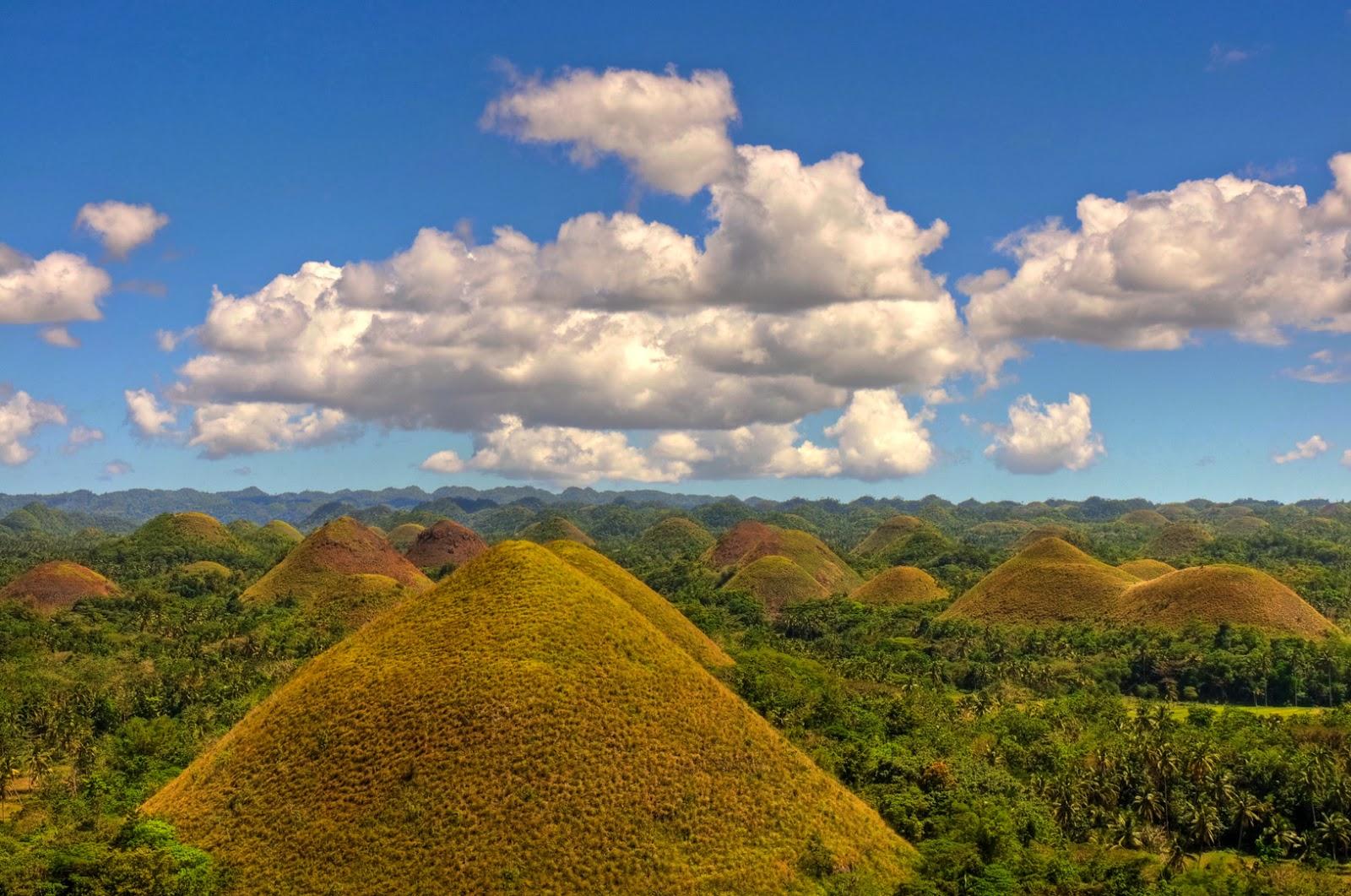 Le Chocolate Hills nelle Filippine