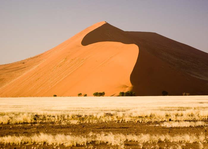 Le dune della Dead Vlei in Namibia