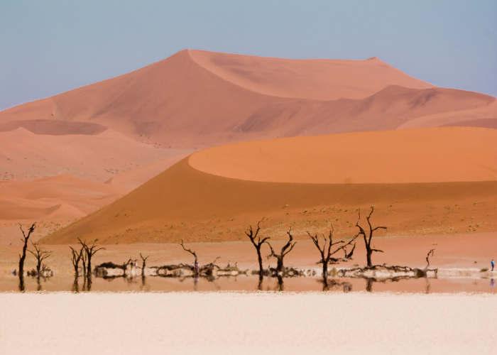La Dead Vlei in Namibia