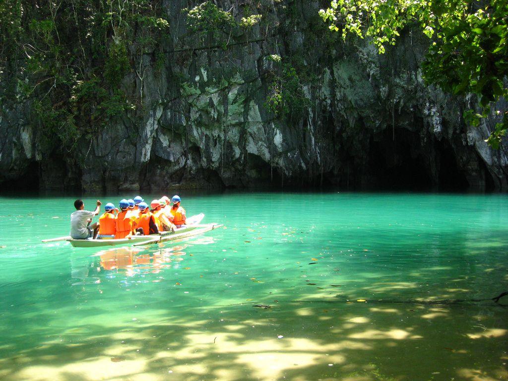 Il fiume sotterraneo a Puerto Princesa