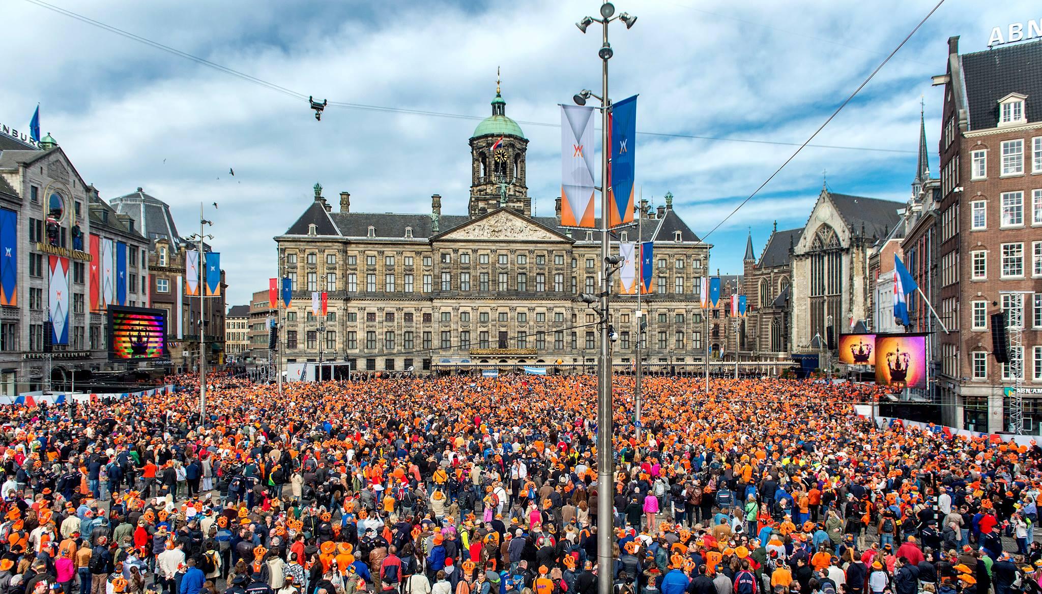 La Festa del Re celebrata nei Paesi Bassi