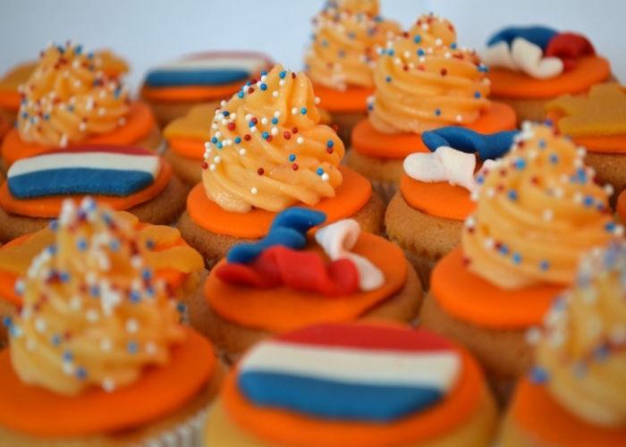 Dolcetti prreparati nei Paesi Bassi durante la Festa del Re