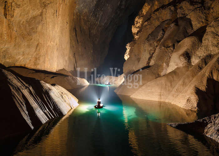 Un passaggio interno di Hang Son Doong in Vietnam