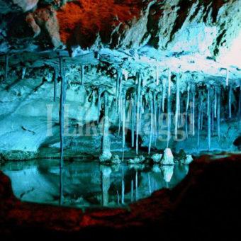 Immagine della caverna dove si può vedere la Cascata Ruby Falls