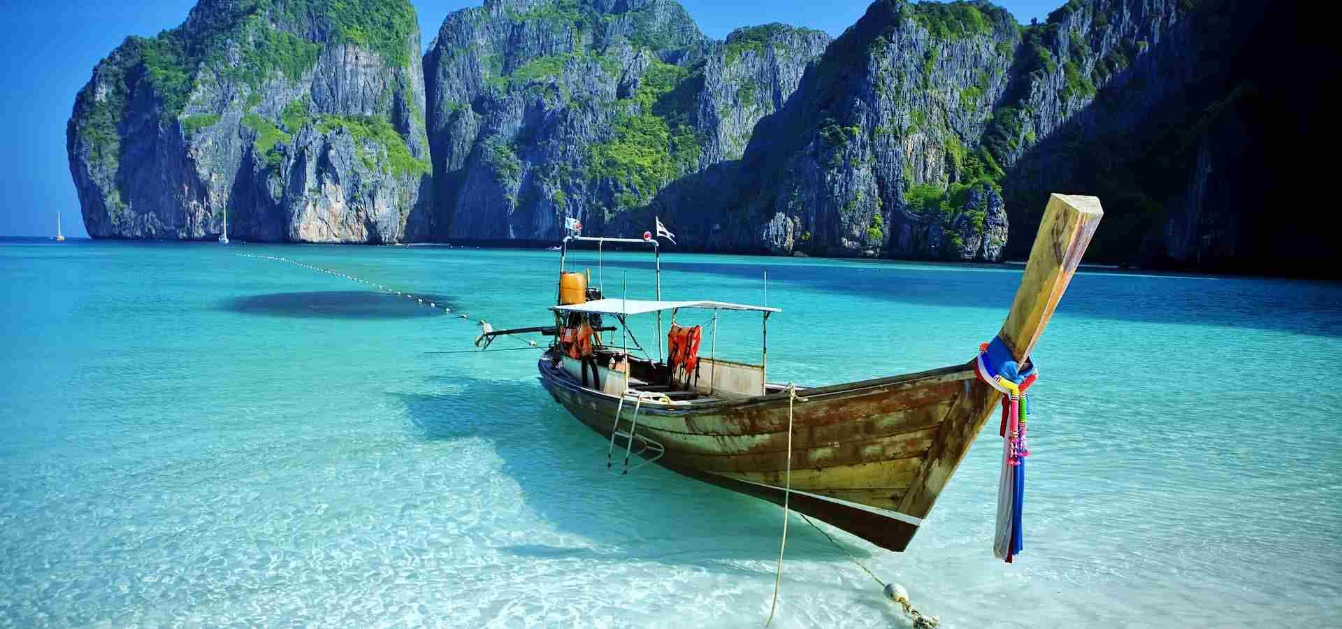 spiaggia Phuket, Thailandia