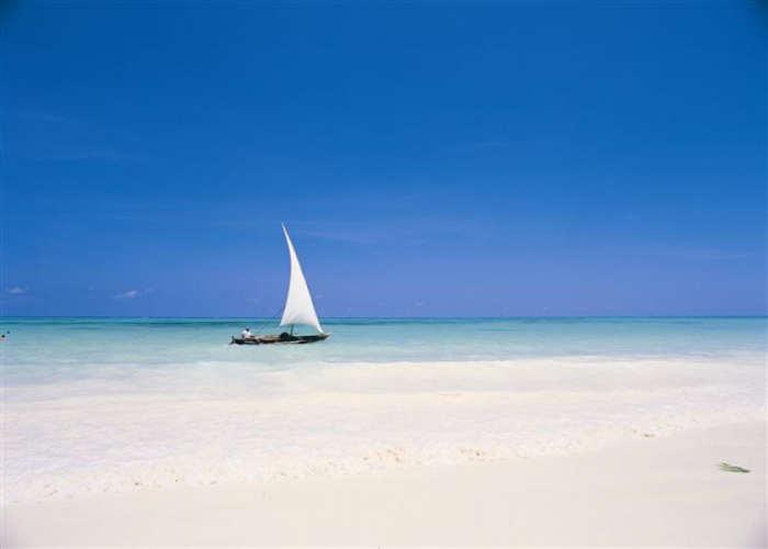 Palumbo Beach in Tanzania