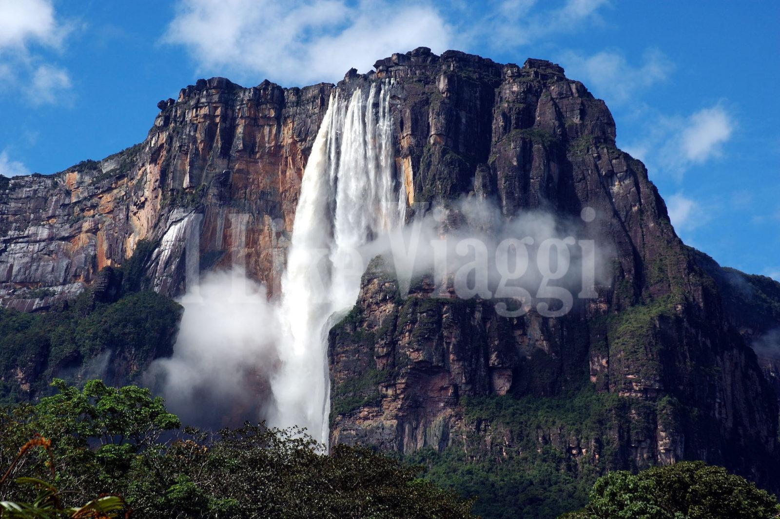 Immagine della Cascata Salto Angel in Venezuela
