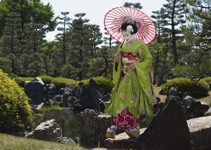 Una Maiko che aspira a diventare Geisha