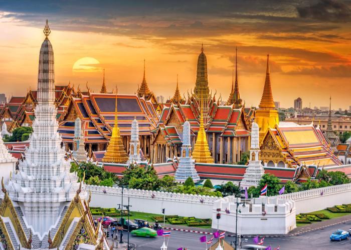 Phi Phi Island. Bangkok Palazzo Reale