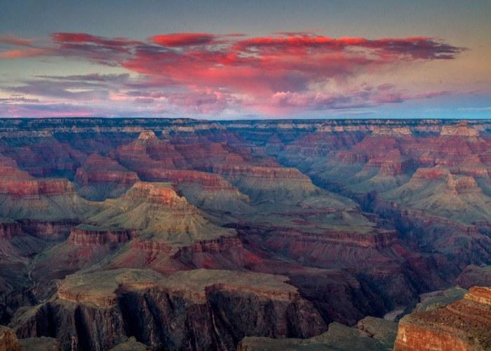 Viaggio di nozze nyc tour usa polinesia i like viaggi for Grand canyon north rim mappa della cabina
