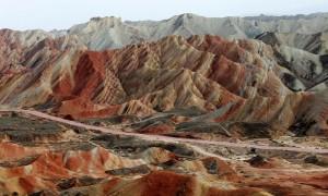 Parco Geologico Nazionale Danxia Cinese di Zhangye