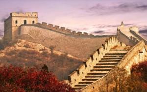 Grande Muraglia Cinese Autunno
