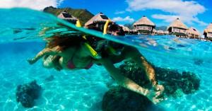 Snorkeling Polinesia